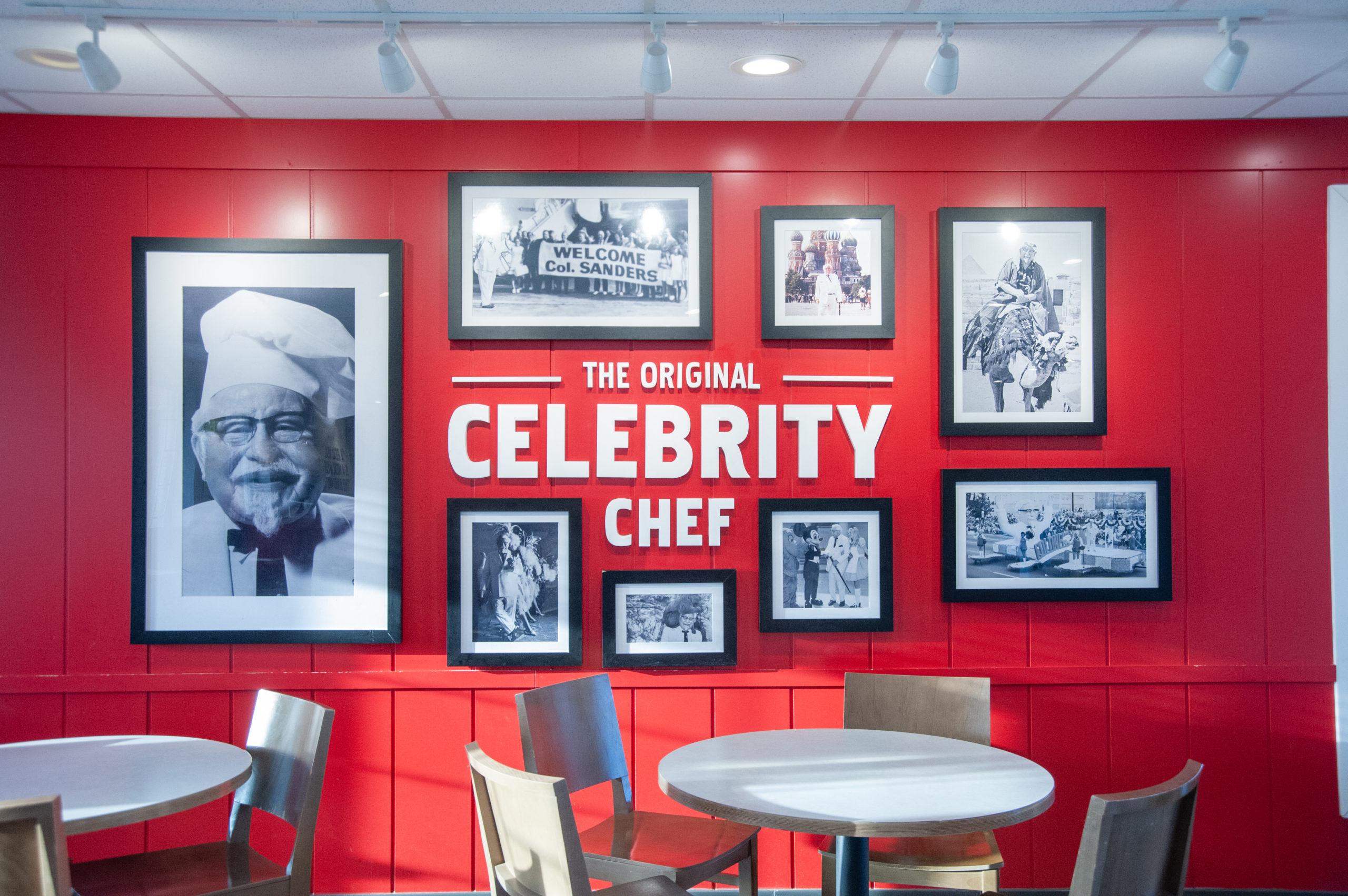 Colonel Sanders Appreciation Wall