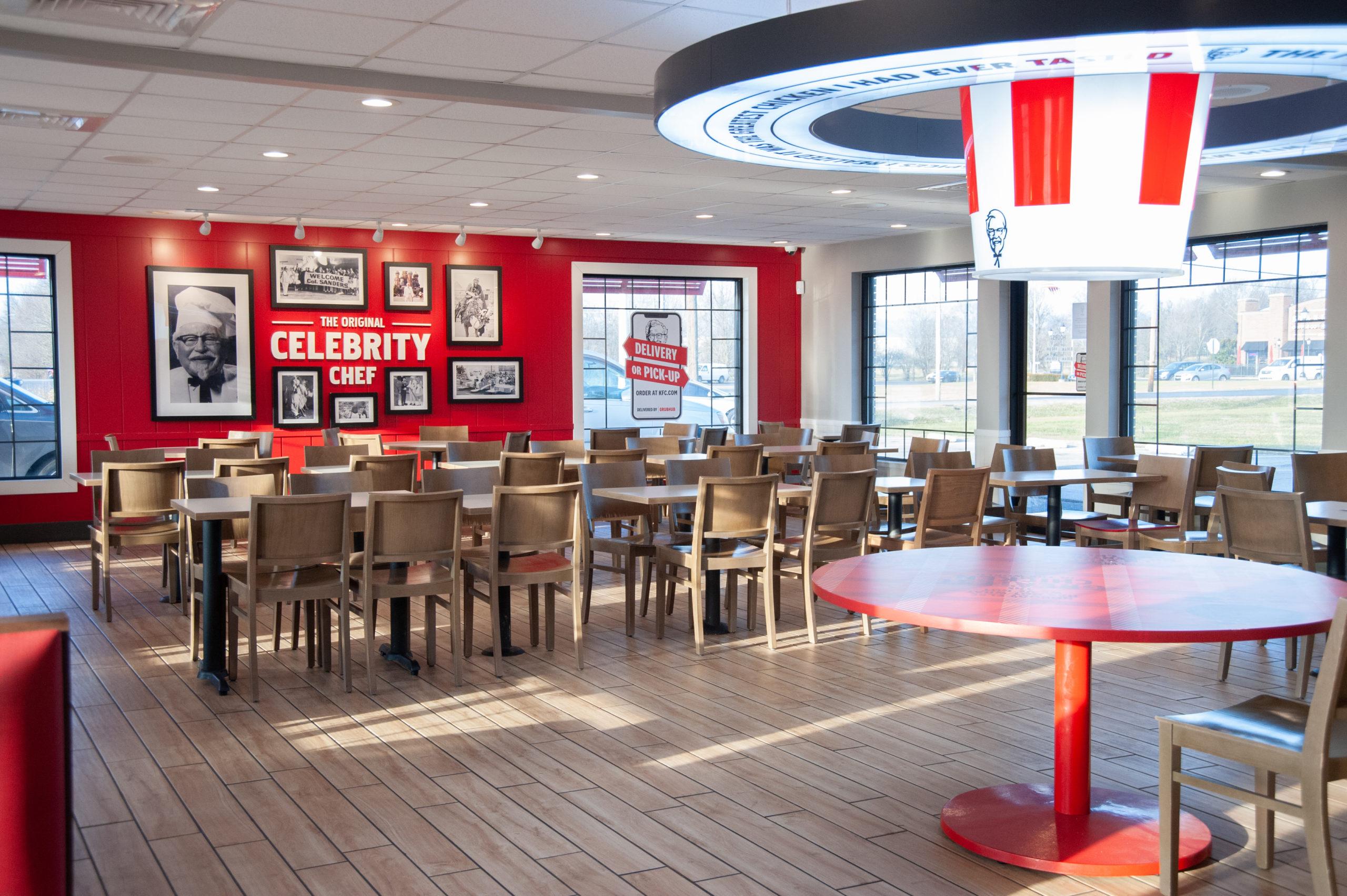 KFC Dining Room